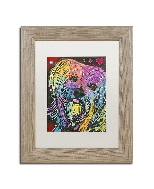 """Trademark Global Dean Russo '10' Matted Framed Art - 14"""" x 11"""" x 0.5"""""""
