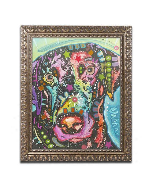 "Trademark Global Dean Russo '19' Ornate Framed Art - 14"" x 11"" x 0.5"""