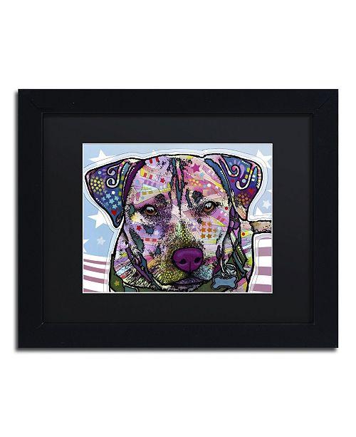 """Trademark Global Dean Russo 'Dakota' Matted Framed Art - 11"""" x 14"""" x 0.5"""""""