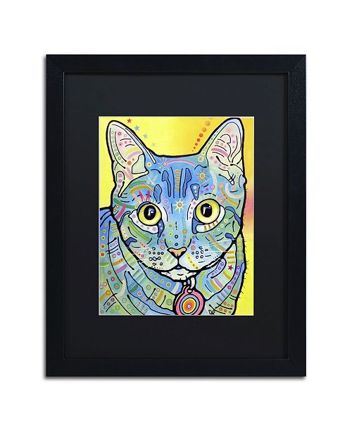 "Trademark Global Dean Russo 'Vintage Maya' Matted Framed Art - 16"" x 20"" x 0.5"""