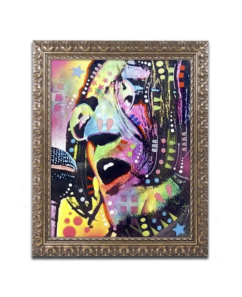 "Trademark Global Dean Russo 'John Lennon' Ornate Framed Art - 14"" x 11"" x 0.5"""