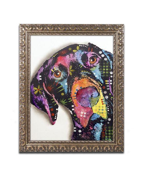 """Trademark Global Dean Russo 'Pointer' Ornate Framed Art - 14"""" x 11"""" x 0.5"""""""