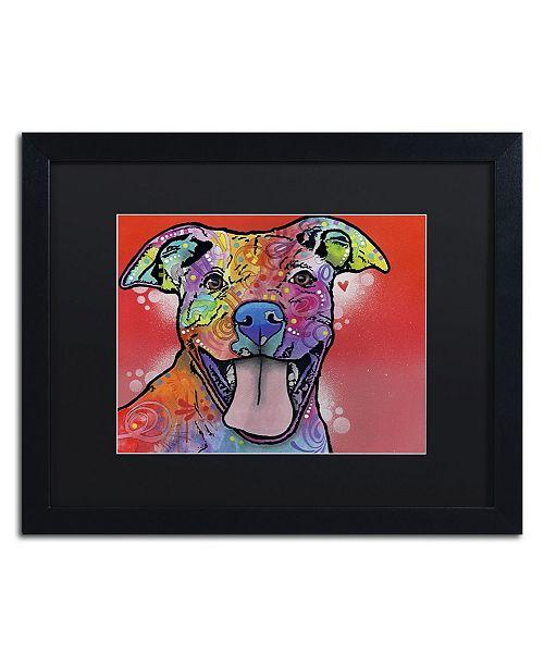 """Trademark Global Dean Russo 'Atticus' Matted Framed Art - 16"""" x 20"""" x 0.5"""""""