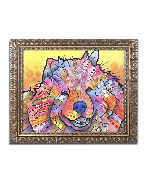 "Trademark Global Dean Russo 'Benzi' Ornate Framed Art - 14"" x 11"" x 0.5"""