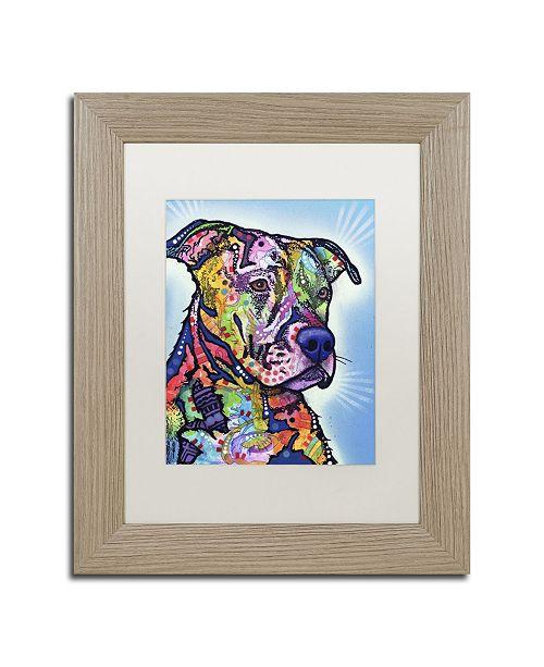 """Trademark Global Dean Russo 'Deacon' Matted Framed Art - 14"""" x 11"""" x 0.5"""""""