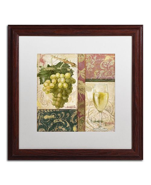 "Trademark Global Color Bakery 'Sofia II' Matted Framed Art - 16"" x 0.5"" x 16"""