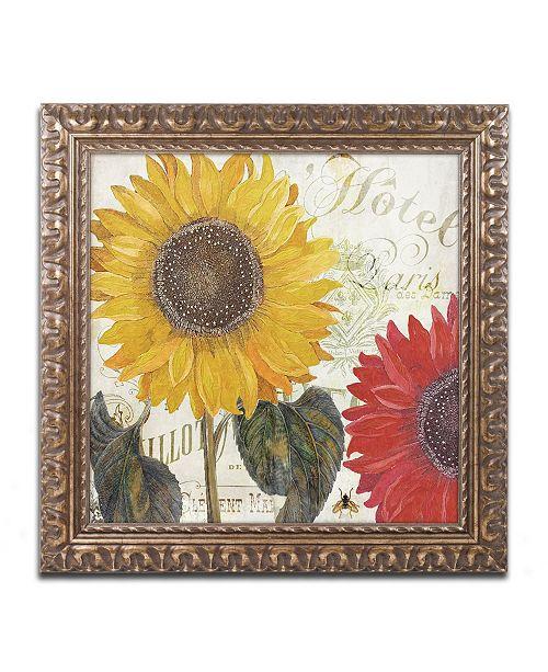 """Trademark Global Color Bakery 'Sundresses I' Ornate Framed Art - 16"""" x 0.5"""" x 16"""""""