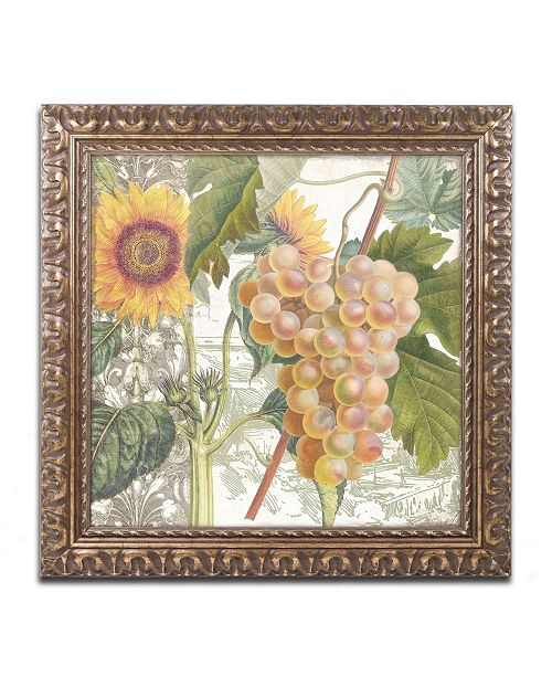 "Trademark Global Color Bakery 'Dolcetto IV' Ornate Framed Art - 16"" x 0.5"" x 16"""