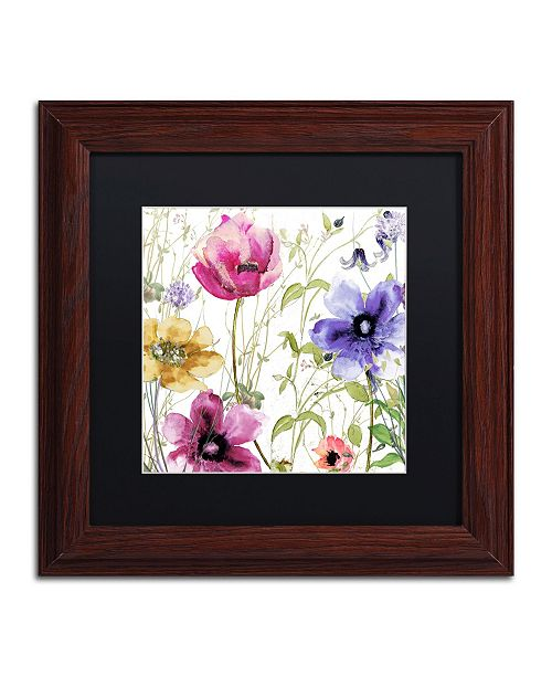 "Trademark Global Color Bakery 'Summer Diary I' Matted Framed Art - 11"" x 0.5"" x 11"""