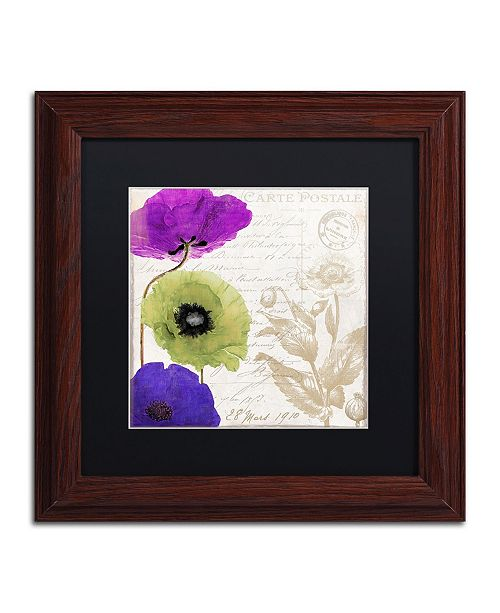 "Trademark Global Color Bakery 'Love Notes II' Matted Framed Art - 11"" x 0.5"" x 11"""