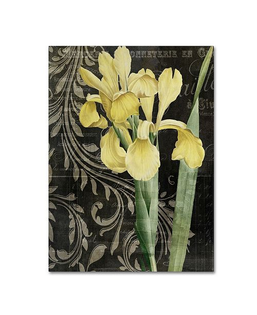 """Trademark Global Color Bakery 'Ode To Yellow' Canvas Art - 18"""" x 2"""" x 24"""""""