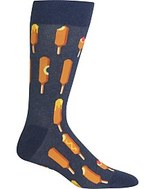 Hot Sox Men's Socks, Corn Dogs