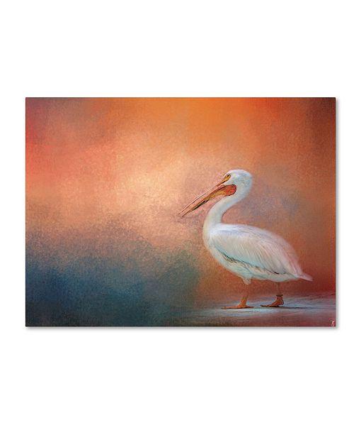 "Trademark Global Jai Johnson 'Pelican Walk' Canvas Art - 32"" x 24"" x 2"""