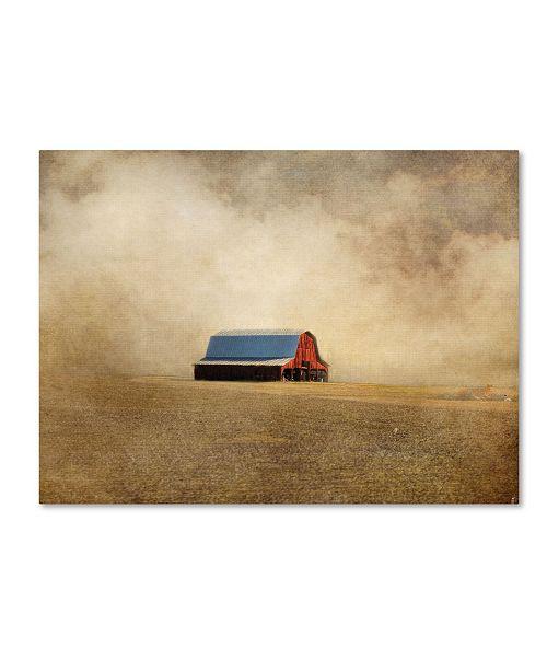"Trademark Global Jai Johnson 'Red Barn In Missouri' Canvas Art - 19"" x 14"" x 2"""