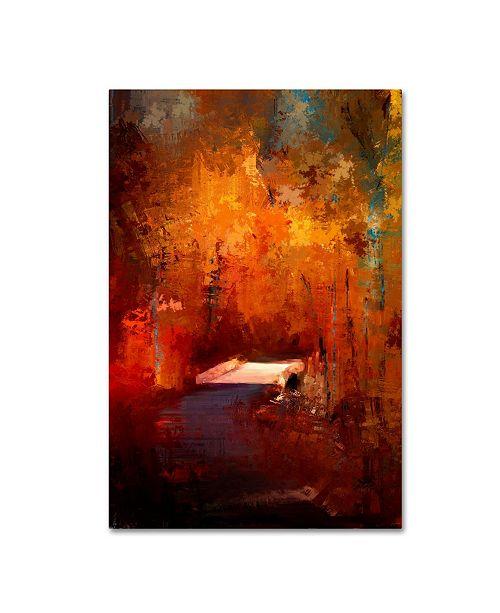 "Trademark Global Jai Johnson 'Crossing Into Autumn' Canvas Art - 47"" x 30"" x 2"""