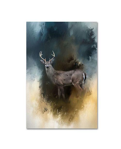 """Trademark Global Jai Johnson 'Shiloh Buck' Canvas Art - 32"""" x 22"""" x 2"""""""