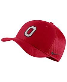 Ohio State Buckeyes Aerobill Mesh Cap