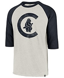 Men's Chicago Cubs Coop Throwback Club Raglan T-Shirt