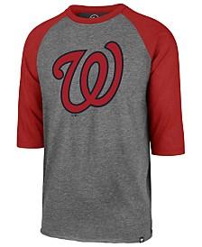 '47 Brand Men's Washington Nationals Throwback Club Raglan T-Shirt