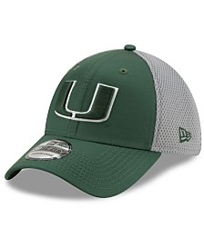 New Era Miami Hurricanes TC Gray Neo 39THIRTY Cap