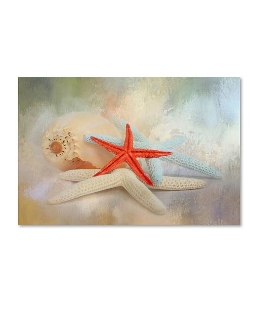 "Trademark Global Jai Johnson 'Gifts From The Sea' Canvas Art - 47"" x 30"" x 2"""