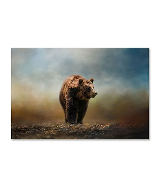 "Trademark Global Jai Johnson 'Grizzly On The Rocks' Canvas Art - 32"" x 22"" x 2"""
