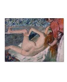 "Degas 'After The Bath' Canvas Art - 47"" x 35"" x 2"""