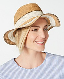 INC Packable Raffia Panama Hat, Created for Macy's