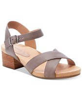 fabe7256505f Lucky Brand Philana Footbed Dress Sandals