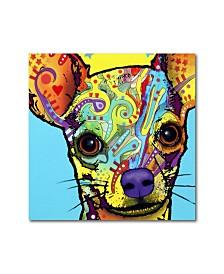 """Dean Russo 'Chihuahua' Metal Art - 16"""" x 16"""" x 0.125"""""""