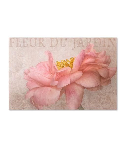 "Trademark Global Cora Niele 'Garden Flower' Canvas Art - 32"" x 22"" x 2"""