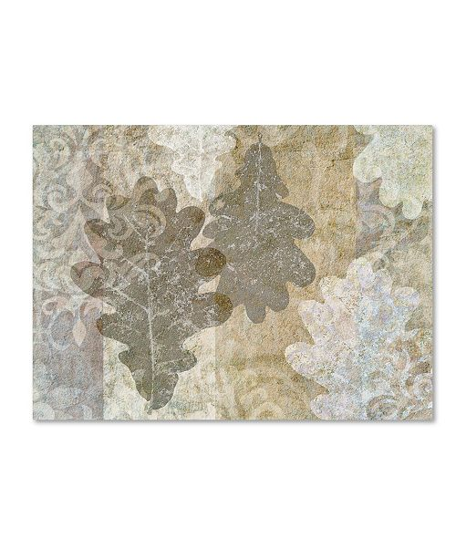 "Trademark Global Cora Niele 'Autumn Leaves Oak' Canvas Art - 32"" x 24"" x 2"""