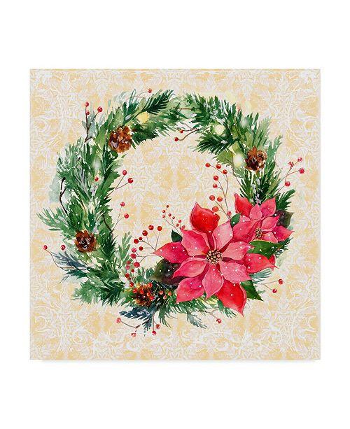 "Trademark Global Irina Trzaskos Studio 'Christmas III' Canvas Art - 24"" x 24"" x 2"""