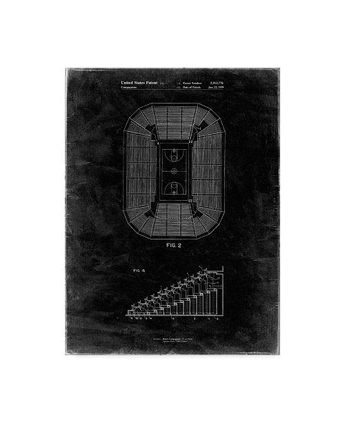 "Trademark Global Cole Borders 'Stadium' Canvas Art - 24"" x 18"" x 2"""