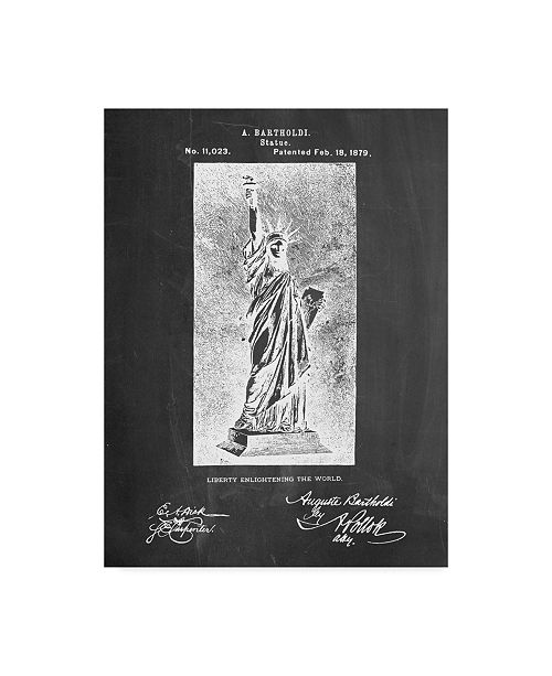 "Trademark Global Cole Borders 'Statue Of Liberty' Canvas Art - 24"" x 18"" x 2"""