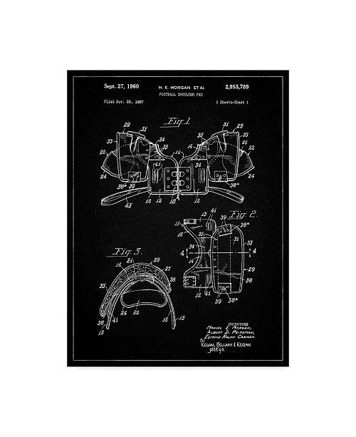 "Trademark Innovations Cole Borders 'Body Armor' Canvas Art - 32"" x 24"" x 2"""