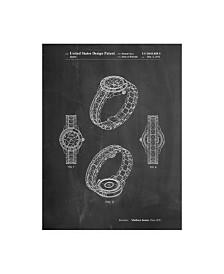 "Cole Borders 'Luxury Watch' Canvas Art - 32"" x 24"" x 2"""