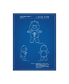 "Cole Borders 'Champ Care Bear' Canvas Art - 32"" x 24"" x 2"""