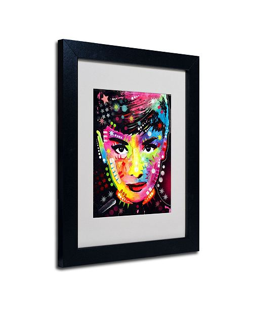 "Trademark Global Dean Russo 'Audrey' Matted Framed Art - 14"" x 11"" x 0.5"""