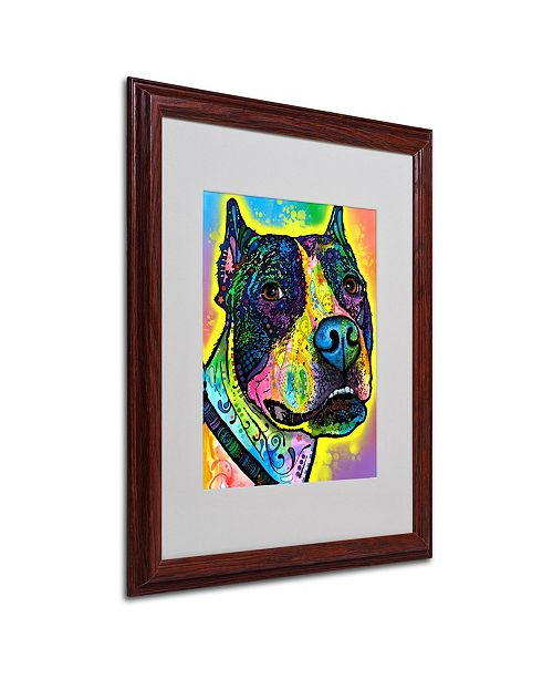 """Trademark Global Dean Russo 'Justice' Matted Framed Art - 16"""" x 20"""" x 0.5"""""""