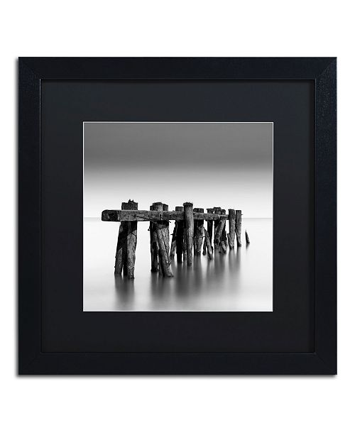 "Trademark Global Dave MacVicar 'Weathered' Matted Framed Art - 16"" x 16"" x 0.5"""