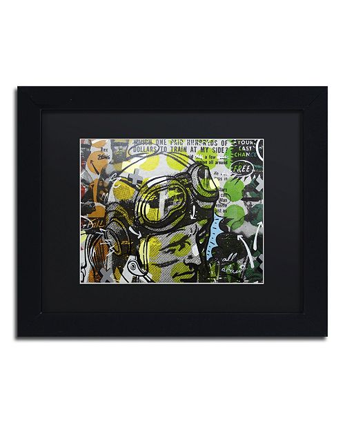 "Trademark Global Dan Monteavaro 'He Man' Matted Framed Art - 11"" x 14"" x 0.5"""