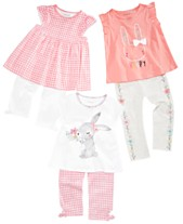 cff1eb79e69f First Impressions Baby Girls Easter Bunny Mix   Match Separates
