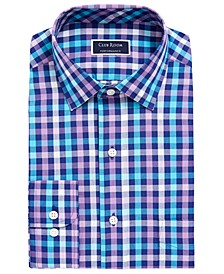 Men's Classic/Regular Fit Performance Multi Gingham Dress Shirt, Created for Macy's