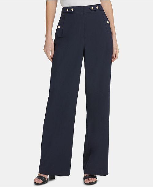 DKNY High-Rise Sailor Pants