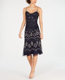 Adrianna Papell Embellished Sleeveless Dress