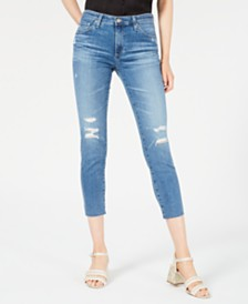 AG Jeans Prima Cropped Skinny Jeans