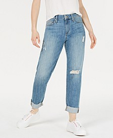 Niki Ripped Boyfriend Jeans