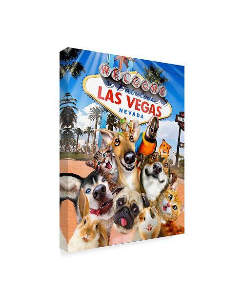 Macys Home Las Vegas: Trademark Global Howard Robinson 'Las Vegas Pets' Canvas