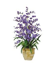 Nearly Natural Triple Dancing Lady Silk Flower Arrangement